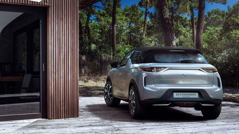 DS 3 Crossback, 2019 Cars, crossover, 4K (horizontal)