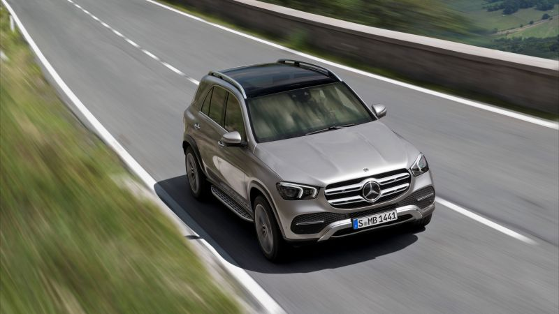 Mercedes-Benz GLE, 2019 Cars, SUV, 8K (horizontal)