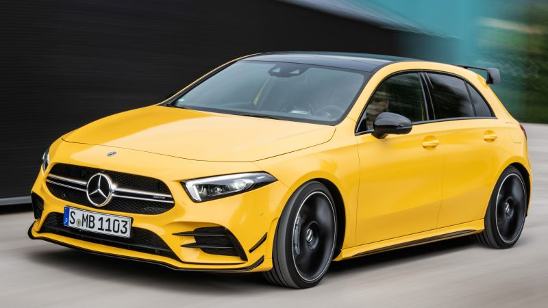 Mercedes-Benz A35 AMG 4Matic, 2019 Cars, 8K (horizontal)