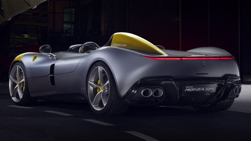 Ferrari Monza SP1, 2019 Cars, supercar, 4K (horizontal)
