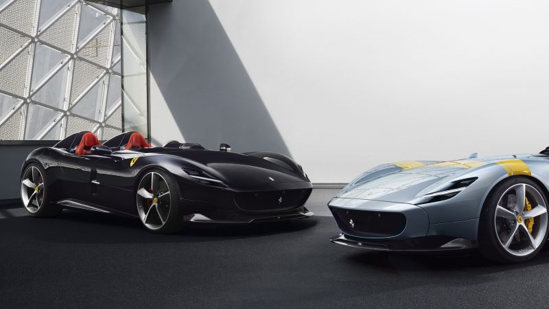 Ferrari Monza SP2, 2019 Cars, supercar, 5K (horizontal)