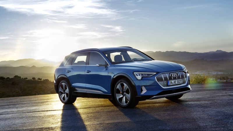 Audi e-tron, 2020 Cars, SUV, electric cars, 4K (horizontal)