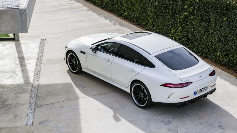Mercedes-Benz AMG GT43 4-Door, 2019 Cars, 8K (horizontal)