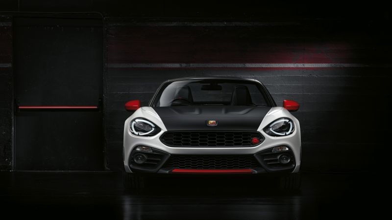 Fiat 124 GT Abarth, 2018 Cars, 4K (horizontal)