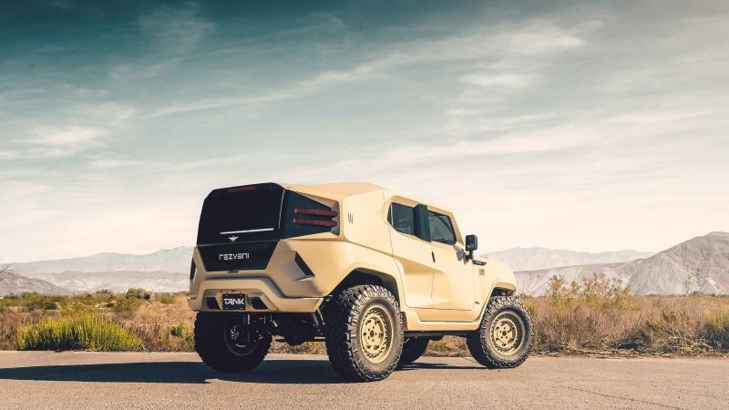 Rezvani Tank Military, SUV, 2018 Cars, HD (horizontal)