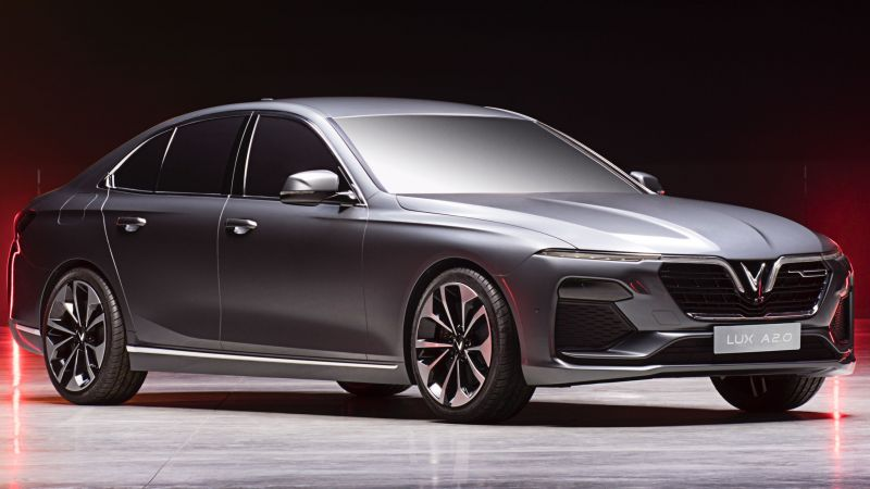 VinFast LUX A2.0 sedan, 2019 Cars, 4K (horizontal)