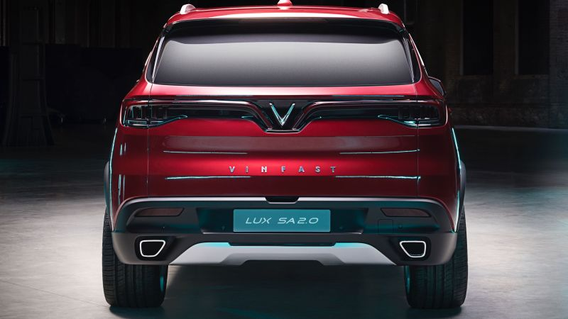 VinFast LUX A2.0, SUV, 2019 Cars, 4K (horizontal)