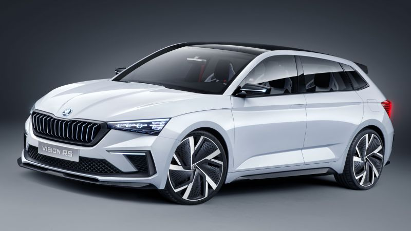 Skoda Vision RS, electric cars, 5K (horizontal)