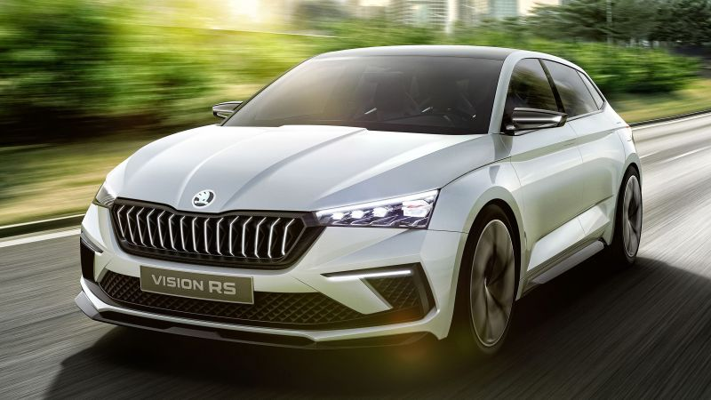 Skoda Vision RS, electric cars, 4K (horizontal)