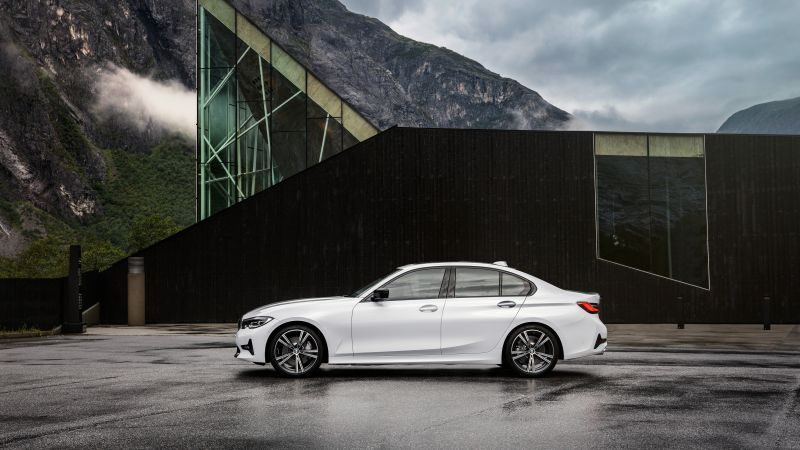 BMW 3-Series, 2019 Cars, 4K (horizontal)