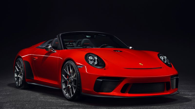 Porsche 911 Speedster, 2019 Cars, 4K (horizontal)