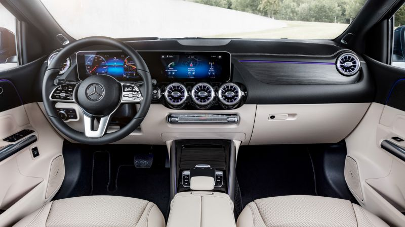 Mercedes-Benz B-Class W247, 2019 Cars, HD (horizontal)