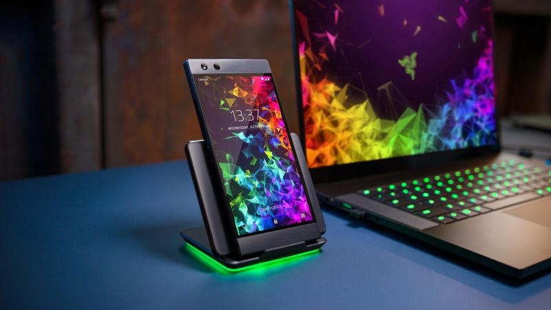 Razer Phone 2, 4K (horizontal)