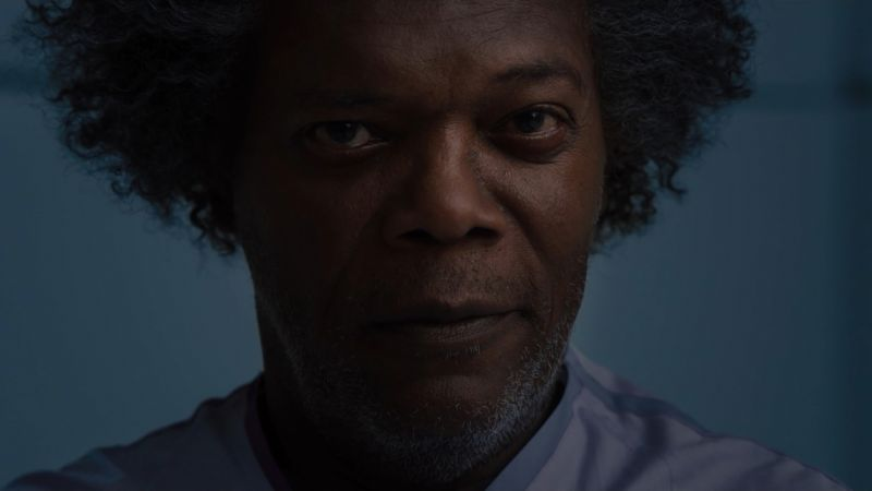 Glass 2019, Samuel L. Jackson, 4K (horizontal)