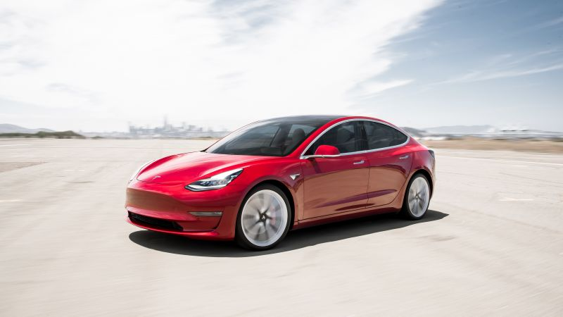 Tesla Model 3 Performance, 2019 Cars, electric cars, 4K (horizontal)