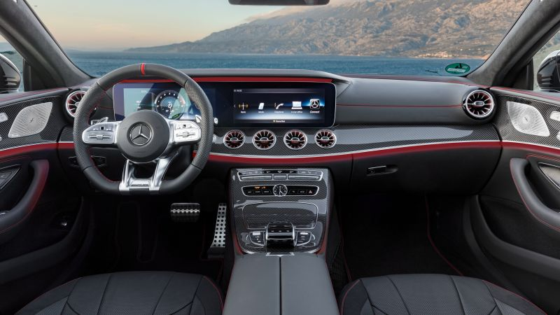Mercedes-Benz CLS53 AMG, 2019 Cars, 4K (horizontal)