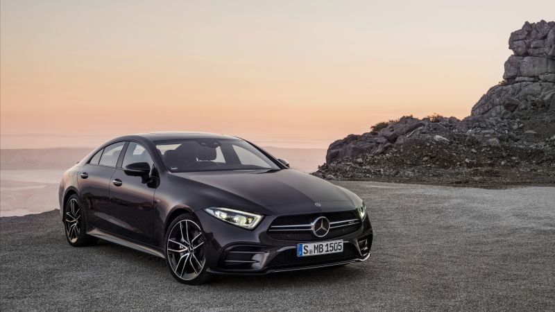 Mercedes-Benz CLS53 AMG, 2019 Cars, 8K (horizontal)