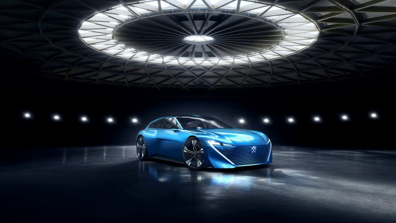 Peugeot Instinct, electric cars, 4K (horizontal)