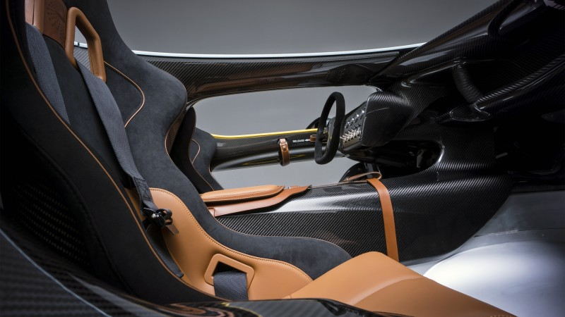 Aston Martin CC100, Speedster, interior, concept, Aston Martin, sports car, anniversary, custom (horizontal)