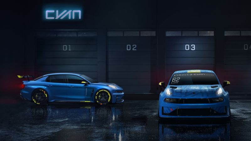 Lynk & Co 03 Cyan, 2019 Cars, 4K (horizontal)
