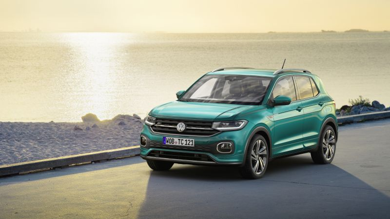 Volkswagen T-Cross, SUV, 2019 Cars, 4K (horizontal)