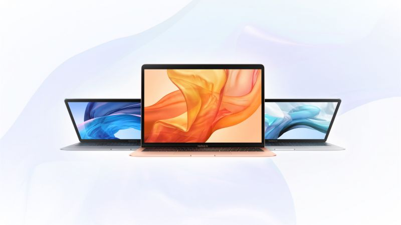 MacBook Air, Apple October 2018 Event (horizontal)