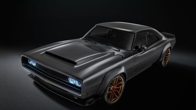 Dodge Super Charger 1968, 2018 Cars, 4K (horizontal)