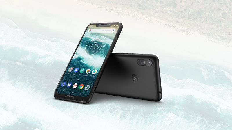 Motorola One Power, Android 9 Pie, HD (horizontal)