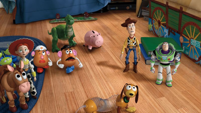 Toy Story 4, 4K (horizontal)