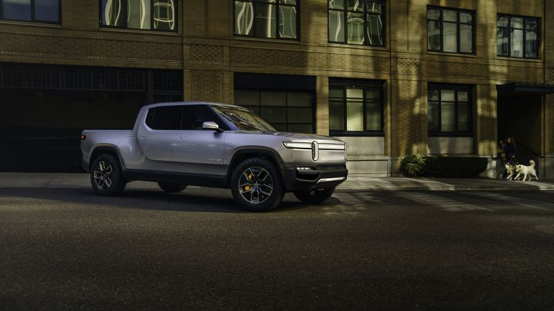 Rivian R1T, SUV, electric cars, 4K (horizontal)