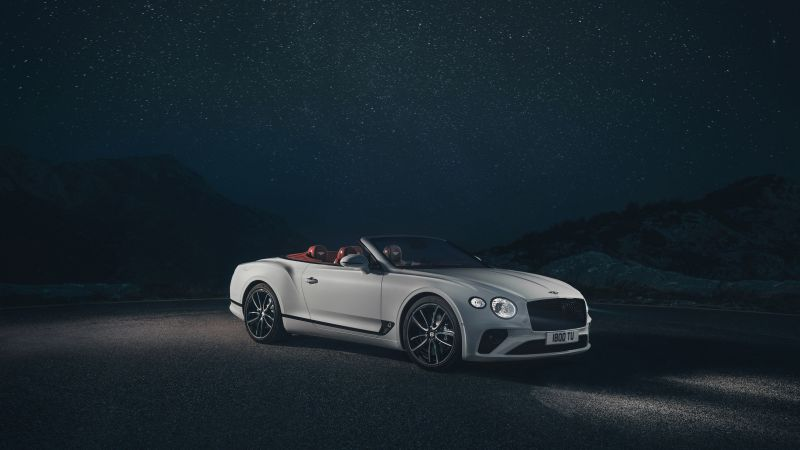 Bentley Continental GT Convertible, 2019 Cars, 4K (horizontal)