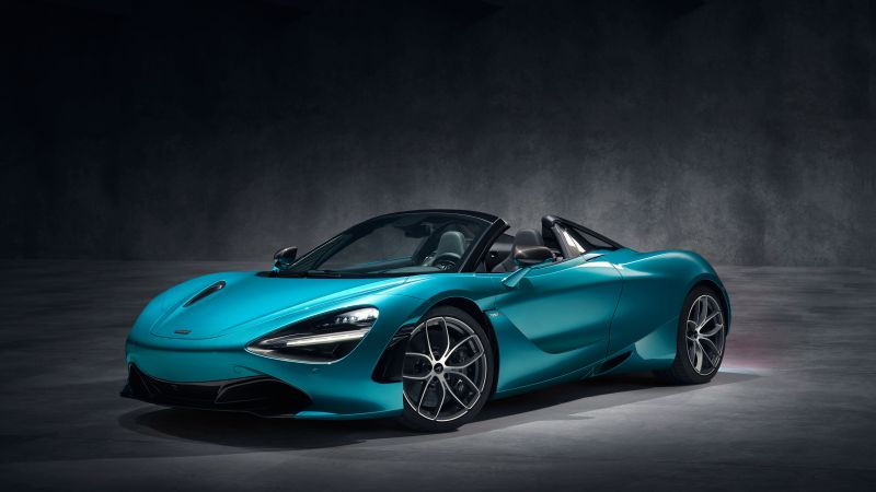 McLaren 720S Spider, supercar, 2019 Cars, 4K (horizontal)