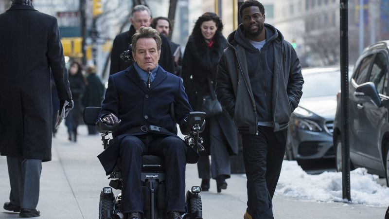 The Upside, Kevin Hart, Bryan Cranston, HD (horizontal)