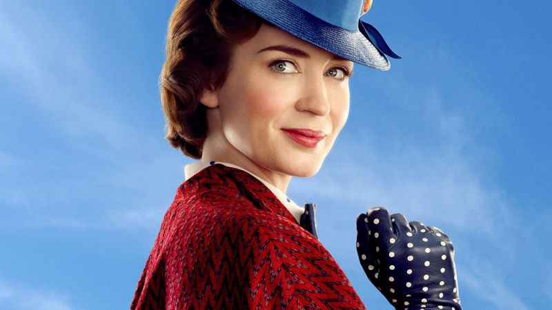 Mary Poppins Returns, Emily Blunt, poster (horizontal)