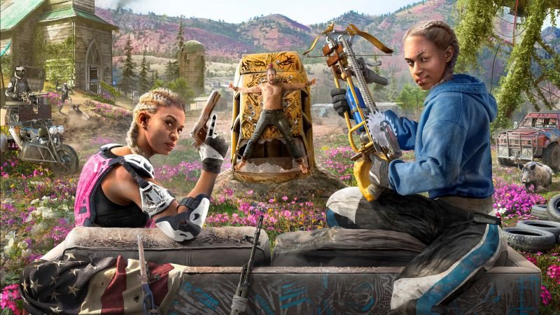 Far Cry New Dawn, poster, HD (horizontal)