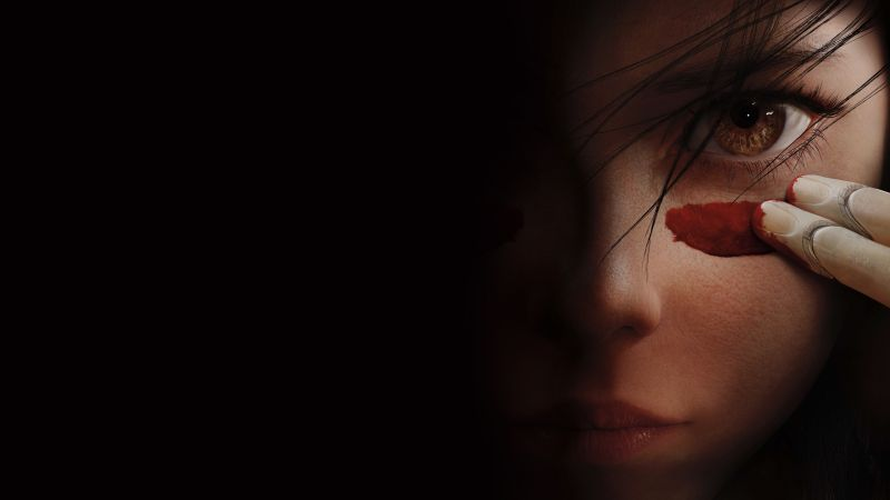 Alita: Battle Angel, Rosa Salazar, 4K (horizontal)