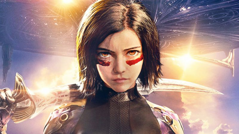 Alita: Battle Angel, Rosa Salazar, HD (horizontal)