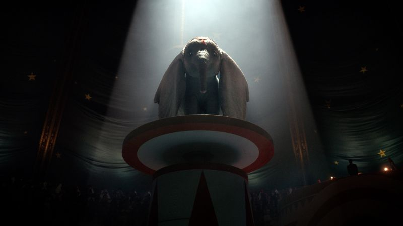 Dumbo, poster, HD (horizontal)