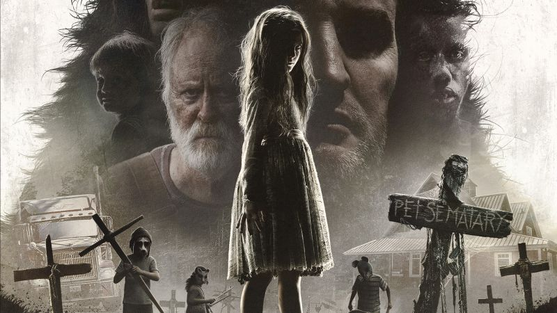 Pet Sematary, poster, HD (horizontal)