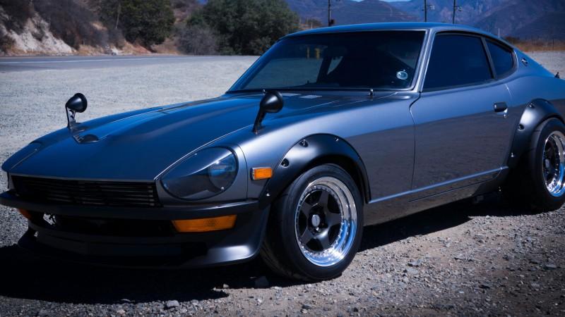 Wallpaper Datsun 240Z, Nissan S30, classic cars, Fairlady Z, sports ...