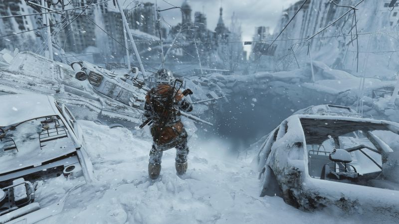 Metro Exodus, screenshot, 4K (horizontal)