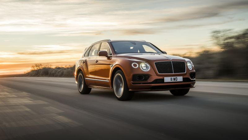 Bentley Bentayga Speed, 2020 Cars, SUV, 4K (horizontal)