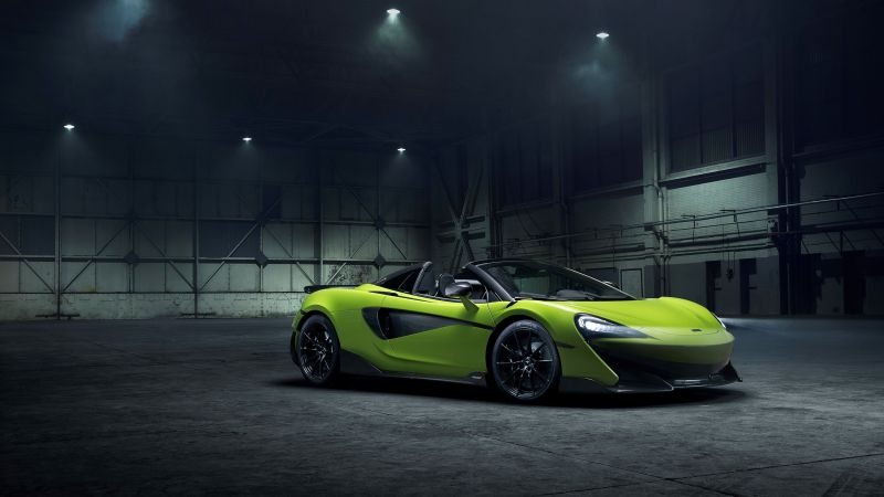 McLaren 600LT Spider, supercar, 2020 Cars (horizontal)