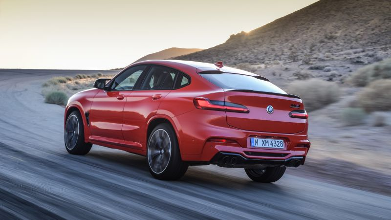 BMW X4 M Competition, Geneva Motor Show 2019, SUV, 2020 Cars, 5K (horizontal)