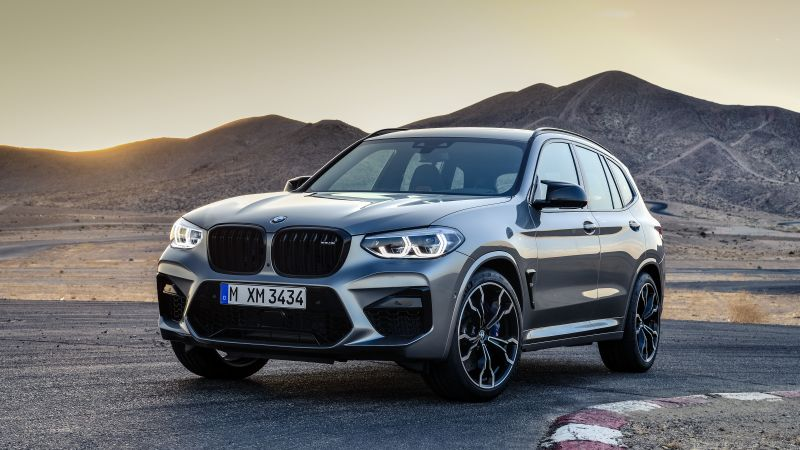 BMW X3 M Competition, Geneva Motor Show 2019, SUV, 2020 Cars, 5K (horizontal)