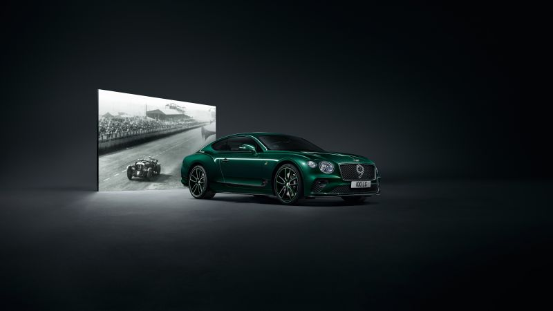 Bentley Continental GT Number 9 Edition, Geneva Motor Show 2019, 5K (horizontal)