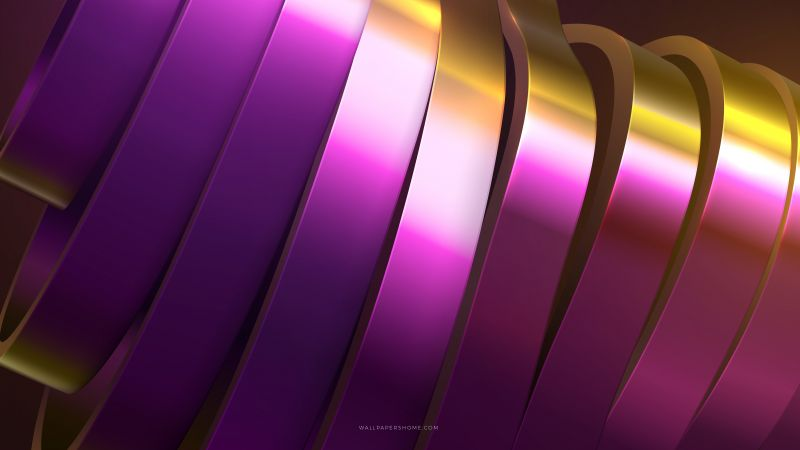 abstract, 3D, colorful, rings, 8k (horizontal)