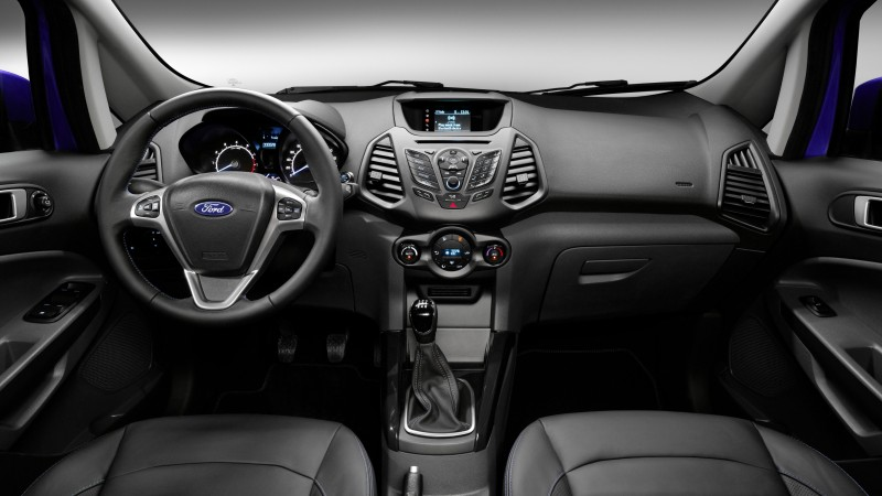 Ford EcoSport, ecosafe, SUV, Ford, Gen 2, SYNC, crossover, Titanium, LHD, interior (horizontal)