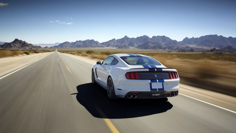 Ford Mustang Shelby GT350, Shelby, GT350, Mustang, sports car, concept, supercar (horizontal)