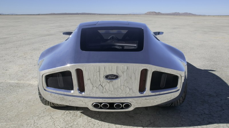 Ford Shelby GR-1, concept, Ford, Shelby, GT, Gran Turismo, sports car, supercar, back (horizontal)
